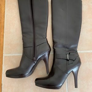 Shoes - Genuine leather brown boots